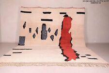 Custom beni ourain rug, all wool moroccan berber carpet