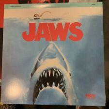 Jaws Laserdisc