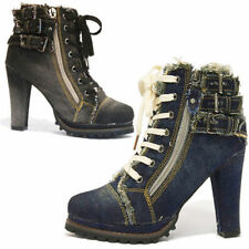 Denim Casual Solid Shoes for Women