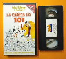 VHS FILM Cartoni Animati Walt Disney LA CARICA DEI 101 VS 4566 no dvd (V200) 7X°