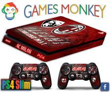 Skin PS4 SLIM - MILAN ULTRAS CALCIO ROSSONERI limited edition DECAL COVER