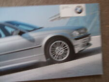 BMW Original Felgen 2001 E38 E39 E46 E36 Z3,X5 E53 +Preise Brochure Catalogue