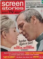 Screen Stories Mag Jackie Kennedy Onassis Frank Sinatra January 1969 070119nonr