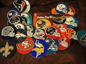 NFL LICENSED FOOTBALL CORNHOLE,  AUTO  WINDOW  DECALS CHOICE OF 29 TEAMS