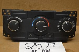 2008 2009 2010 Chrysler 300 AC and Heater Control Used Stock #2571-AC