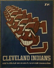 1979 Cleveland Indians Baseball Official Program Magazine