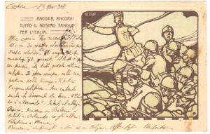 """FRANCHIGIA - ILLUSTRATORE """"ATTILIO"""" - P.M. 3 - 1918"""