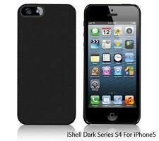 iShell Dark Checker S4 Snap-On Case + Screen Protector for iPhone 5