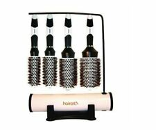 HAIRART Magnetic Tourmaline Boar & Nylon Brushes 4 Piece Display 57234