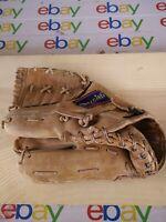 Vintage 70s Spalding Leather Baseball Glove Fielders Mitt Jim Fregosi Pro Model