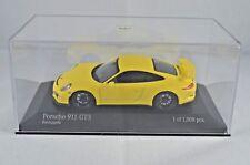 MINICHAMPS PORSCHE 911 GT3 2013 YELLOW 1:43 SCALE LIMITED EDITION