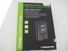 Monster Outlets to Go 2 - Global Adapter
