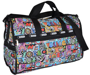 LeSportsac Large Weekender NYC New York Duffle Bag Exclusive new w tags