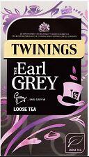 TWININGS LUSSO aromatici Earl Grey LOOSE TEA 125g