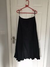 Ex hire costumes - Halloween Long Black Skirt - Witch/Goth - Per Una Size 14 R