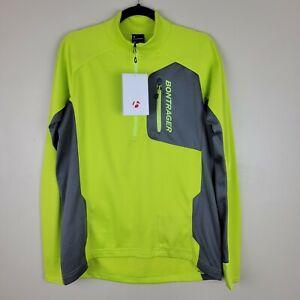 Bontrager M Neon Yellow & Gray Evoke Thermal Jersey
