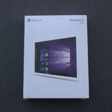 New Microsoft Windows 10 Professional Pro 32/64 Bit Full USB 3.0 Retail Version
