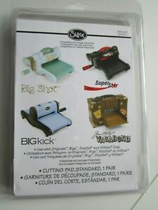 Sizzix Doppelpack Schneideplatten 15,5x22,3 cm