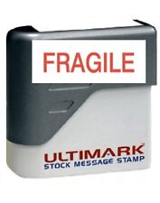 * Fragile * Stamp Pre-inked stamp, Red Ink New. Free Shipping Included.