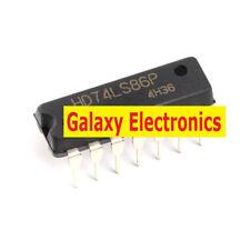 10pcs Original 74LS86 logic - gate and inverter / XOR (exclusive OR) DIP-14