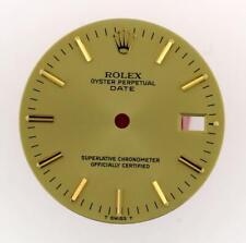 Vintage Men's Rolex Date 34mm 15038 15238 15053 Champange Stick Dial 2Tone #Y29
