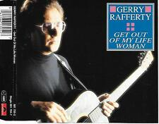 GERRY RAFFERTY - Get out of my life woman CD SINGLE 2TR Germany 1993 (POLYDOR)