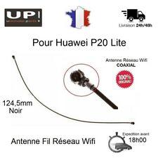 Pour Huawei P20 Lite Antenne Noir Câble Fil Coaxial Réseau Wifi 100 % Original