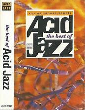 Various The Best Of Acid Jazz CASSETTE ALBUM Acid Jazz, Soul, House, Funk 1991