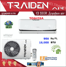 18000 BTU Ductless Air Conditioner, Heat Pump Mini Split 220V: 1.5TON