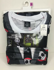 Men's Pajama Set Tim Burton Nightmare Before Christmas 2 pc shirt pants XXL 2X