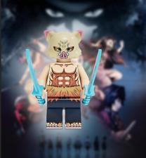 Inosuke Hashibira Demon Slayer Minifigure Kimetsu No Yaiba DC Comics lego MOC