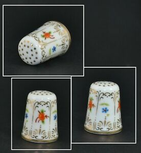 HANDPAINTED LIMOGES STYLE THIMBLE