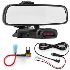 Mirror Mount Bracket + Direct Wire Power Cord + Mini Fuse Tap for K40