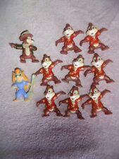 Kelloggs Disney Lot 1991 Toy Figure Rescue Rangers Chip & Dale PVC 10