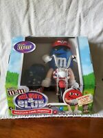M&M's Red White & Blue Motorcycle Candy Dispenser Limited Edition