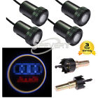 4X LED Car Door Welcome Laser Projector Logo Ghost Shadow Light For AUDI