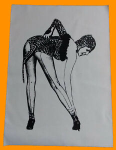 The Cramps Poison IVY Lux Interior punk rock jacket BACK PATCH