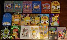 The Simpsons Seasons 1 2 3 4 5 6 7 8 9 10 11 13 14 15 20 Movie Huge DVD Lot Set