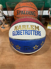 "Spalding Harlem Globetrotter High End Composite Game Ball with 12"" Pump"