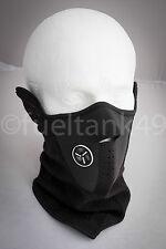 Neoprene Thermal Ski Snowboard Motorcycle Cycling Face Mask - Black