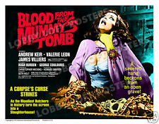BLOOD FROM THE MUMMY'S TOMB LOBBY CARD POSTER  HS 1972 ANDREW KEIR VALERIE LEON
