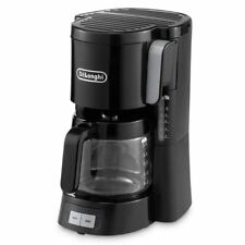 Delonghi ICM15240 Black Front Loading Filter 10-15 Cup Coffee Maker Machine New