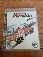 Burnout Paradise (Sony PlayStation 3, 2008).Complete. Great Condition. Untested.