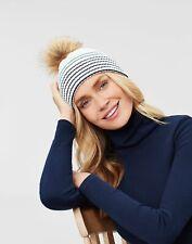 Joules Women Chillaway   Lightweight Knitted Stripe Hat -  in One Size