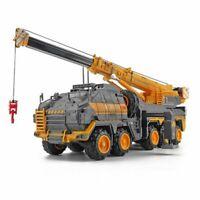 1:120 Engineering Car Model The Wandering Earth Alloy Diecast Crane Truck Model