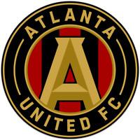 """Atlanta United FC MLS Team Logo DieCut decal Sticker Car Window Wall Cornhole 8"""""""