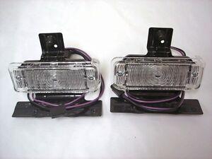 1969 Chevy Chevelle Parking Lamp Assemblies PAIR LH RH Chevrolet Parking Lights