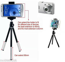 Universal Mini Tripod Stand Extendable Grip Holder Various Camera & Mobile Phone
