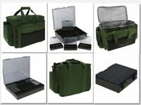 NGT INSULATED CARP FISHING TACKLE BAG HOLDALL 709 PLUS 4+1 COARSE TACKLE BOX