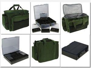 TACKLE BAG HOLDALL INSULATED CARP FISHING709 PLUS 4+1 COARSE TACKLE BOX
